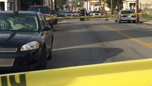 A shooting in the 100 block of N. 26th Street left one dead on Friday.