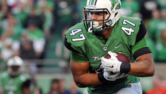Marshall running back Devon Johnson could be back in action Saturday.
