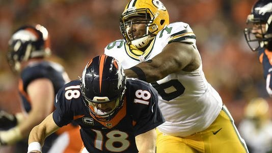 After traveling more than 800 miles from Green Bay to Denver, Mike Daniels and the Packers couldn't keep up with Peyton Manning's Broncos.
