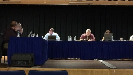 The Maine-Endwell Board of Education in May, 2015