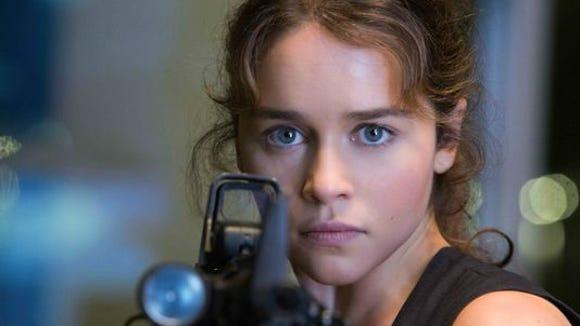 Emilia Clarke takes over the Sarah Connor role in 'Terminator Genisys.'