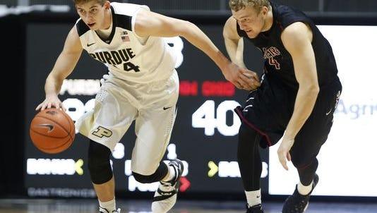 Incoming Purdue freshman guard Ryan Cline