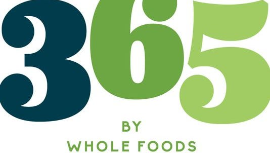 A logo for 365 by Whole Foods Market.