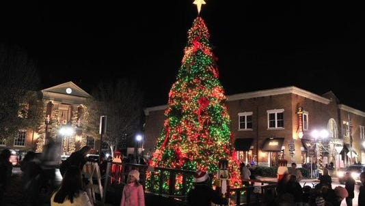 Franklin will host its annual tree lighting ceremony at 7 p.m. Dec. 1.