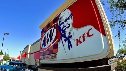 KFC is testing home delivery.