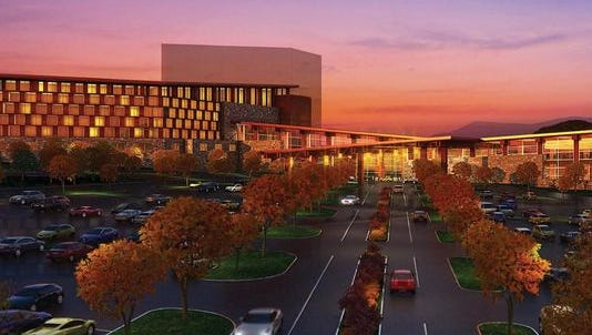 The area around the Asheville Regional Airport will not become home to a Cherokee casino. Pictured is Harrah's Cherokee Valley River Casino & Hotel, which recently opened in Murphy.