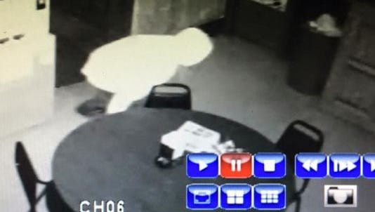 Police believe this person seen in surveillance photo early Thursday is responsible for the theft of about $1,000 from a Mason-area VFW hall.