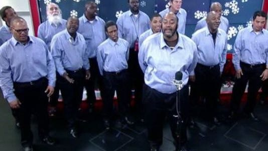 "Atlanta Homeward Choir sings ""Noel."""