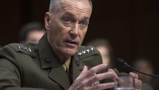Joint Chiefs Chairman Gen. Joseph Dunford, Jr.