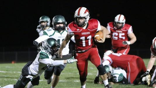 New Palestine will play in the Class 5A title game