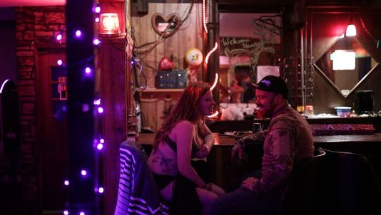 Deer-hunting season is a boon for Big Bon's in Rock at the Upper Peninsula's only strip club.