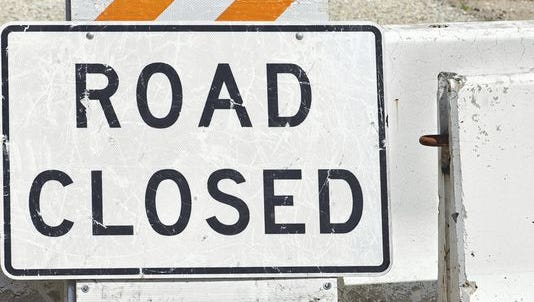 A portion of Dorr Road is expected to close Thursday.