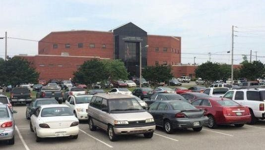 The Madison County Criminal Justice Complex in a Jackson Sun file photo.