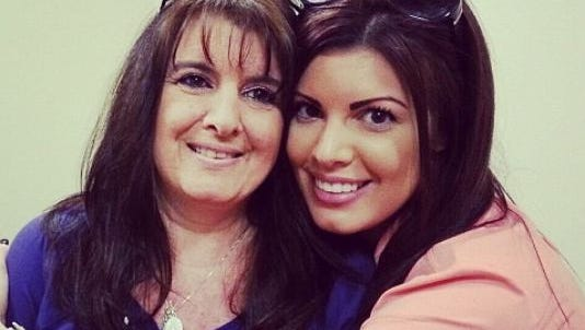 Jenna Rose Lowthert and her mother, before she died.
