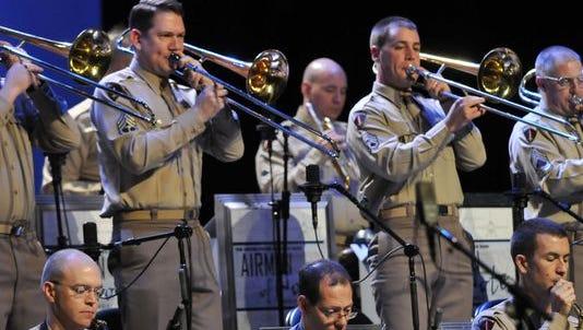 Glenn Miller Concert plays Thursday.