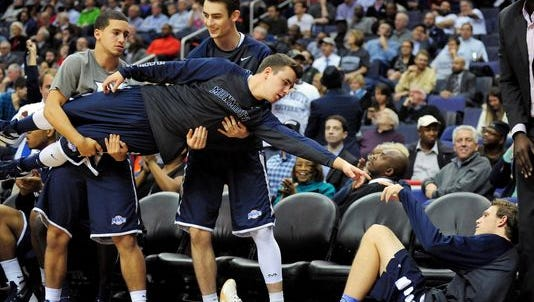 The Monmouth bench mob set the internet on fire with The Creation of Adam