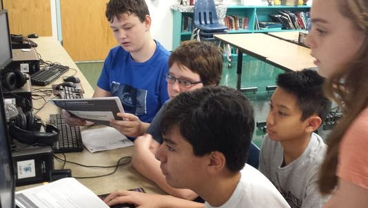 A team of Ascension Catholic School students will move on in a nationwide cyber security competition.