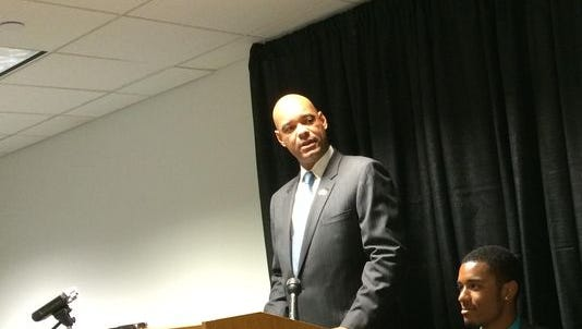Desmund Adams, of Clive, announced his candidacy for Congress July 20.