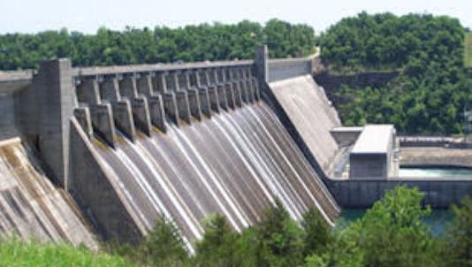 Bull Shoals Dam may need to release up to 60,000 cubic feet of water per second later this week to address the projected rainfall from Tropical Storm Cristobal. That much water per second released by the dam would be a historically large amount.