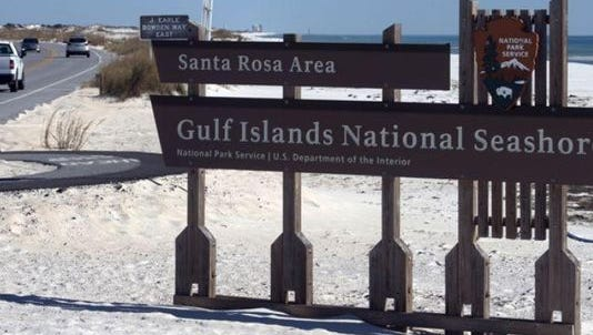 Gulf Islands National Seashore will close the Fort Pickens Area to all incoming public use due to predicted winds and high surf, effective Tuesday.