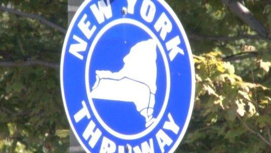 Thruway sign