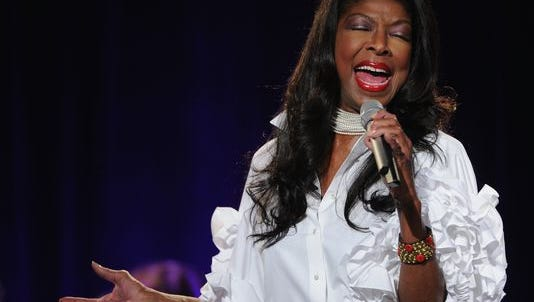 Singer Natalie Cole performs in New York in 2013.