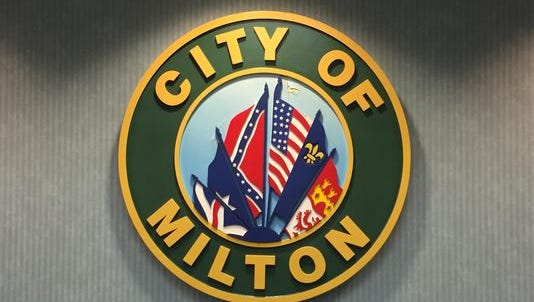 Milton City Councilwoman Peggi Smith called for the resignation of city manager Brian Watkins.