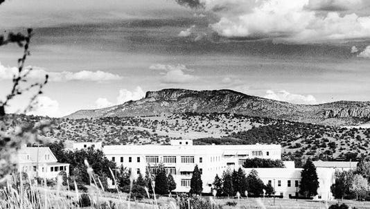 Fort Bayard is seen in this historic photo, courtesy the Fort Bayard Historic Preservation Society.
