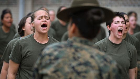 The days of separate entry-level training for female Marines are coming to an end. The Navy secretary has told Commandant Gen. Robert Neller that he wants full integration at boot camp.