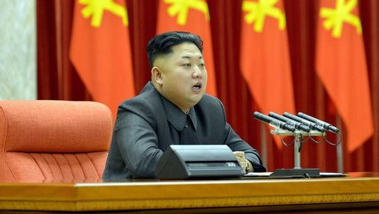 In this Dec. 27, 2013, file photo, North Korean leader Kim Jong Un makes a speech during a ceremony in the capital, Pyongyang.