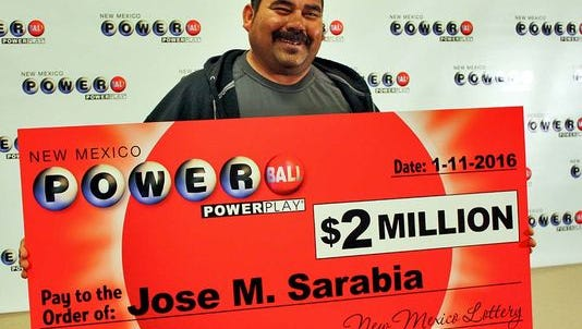 Jose M. Sarabia claimed a $2 million Powerball prize from the Jan. 6 draw.