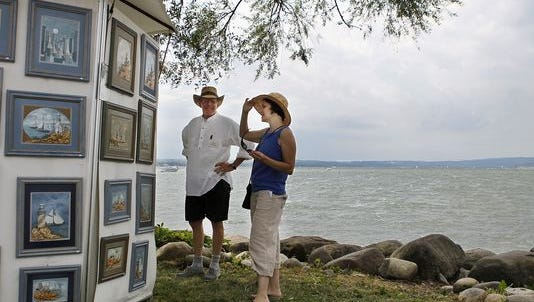 File photo from the 2011 Waterfront Art Festival at Kershaw Park in Canandaigua.