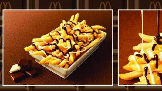 McDonald's Japan is putting a new spin on French fries with the new McChocho Potato.