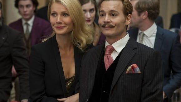 Gwyneth Paltrow and Johnny Depp appear in the atrocious 'Mortdecai'