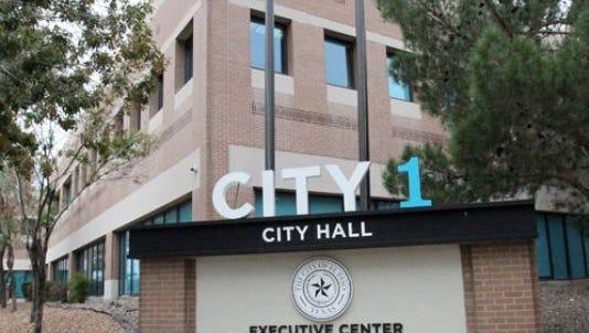 El Paso City Hall.