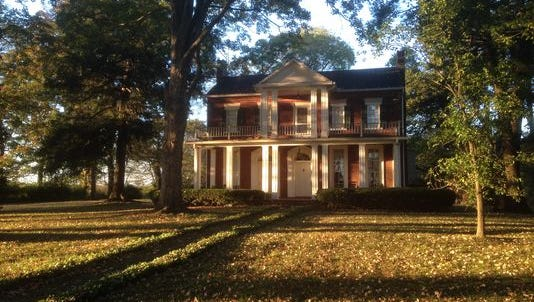 Developers propose to use this historic home that dates back to 1809 at 3726 Manson Pike as a house for a community manager of rental town homes on 17.92 acres if rezoning is approved by the Murfreesboro government.