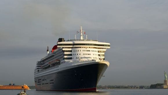 Cunard's Queen Mary 2.