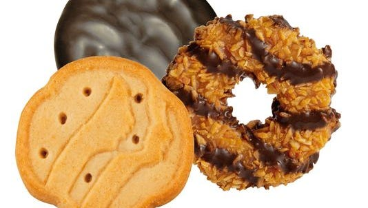 Individual Girl Scout troops get to keep 57-70 cents per box of cookies sold.