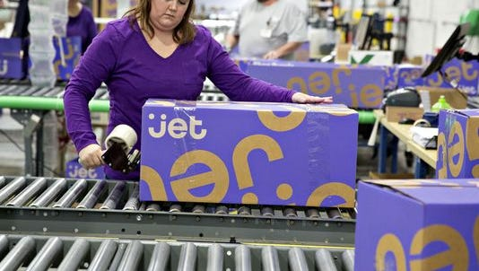 A file photo of e-commerce retailer Jet.com. The company announced a new distribution center just east of Reno-Sparks.