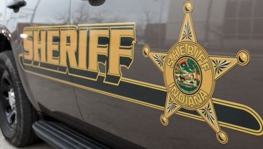 County sheriff's car
