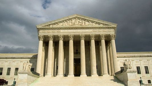 File photo taken in 2012 shows the U.S. Supreme Court Building in Washington, DC.