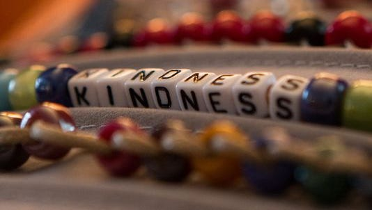In 2013, Grace Murdock decided to make bracelets to help people track kindness. Murdock had no idea how these simple bracelets would change her life.