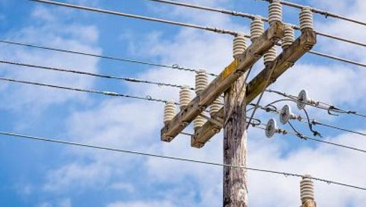 Close to 2,000 We Energies customers near Town of Menasha are without power Tuesday morning.