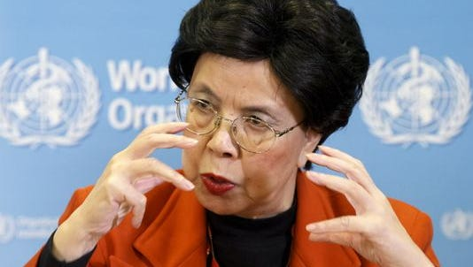 Margaret Chan, head of the WHO, in Geneva on Feb. 1.