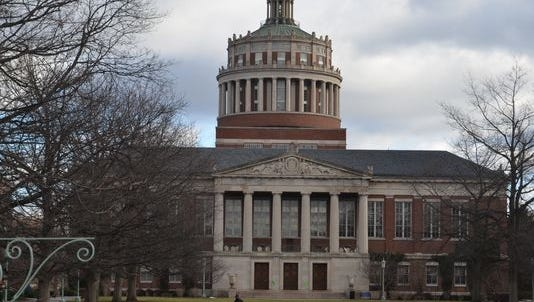 University of Rochester campus in Rochester.