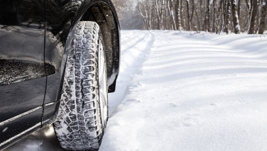 Slippery roads are expected today as up to 2 inches of snow falls on the Lansing region, according to the National Weather Service.