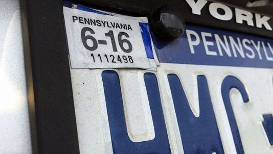 The state Department of Transportation is working to reallocate funds it would save from the elimination of registration stickers into a grant program for Automated License Plate Reader technology.
