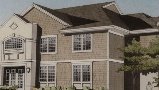An artist's rendering of 180 Turning Lives Around's new safe house in Monmouth County.