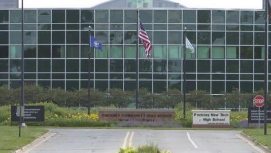 Pinckney High School.