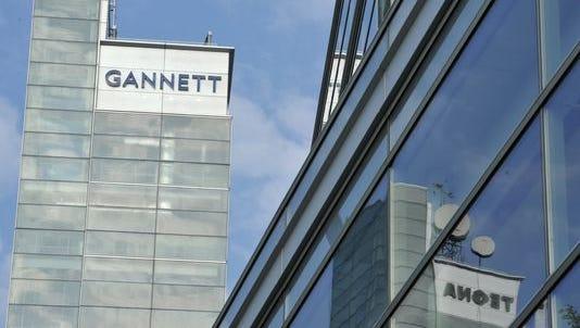 Gannett headquarters building in McLean, Va.